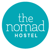 Logotipo The Nomad Hostel